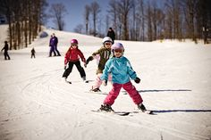We offer 23 expertly groomed ski runs, perfect for the skier or rider of any ability. Family friendly is the name of the game at Treetops with all three lifts converging in one activity filled area. #treetopsresort #ski #snowboard