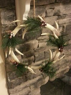 Antler wreath by lmm