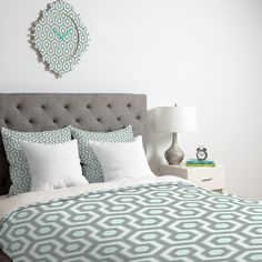 Caroline Okun Icicle Duvet Cover | DENY Designs Home Accessories