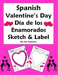 valentine hearts spanish