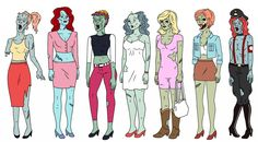zombie sex trade workers from Ugly Americans