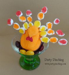 Marshmallow Peeps turkey!