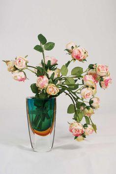 Rambling Rose Vase