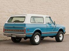 Chevrolet K5 Blazer (1972).