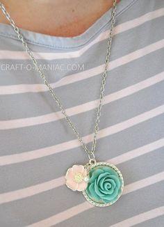DIY Martha Stewart Necklace- great gift idea!