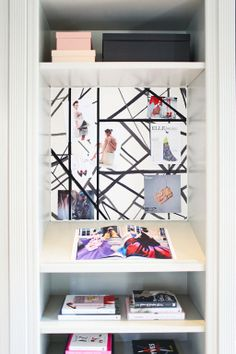 Sartorially Inspired Fashion Blogger's Office | Design by Catherine Kwong for San Francisco Decorators Showcase
