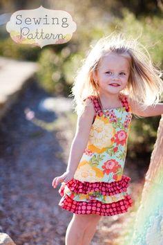 fairytale frocks and lollipops :: sew sweet patterns, hayden dress