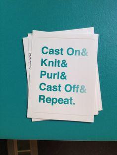 FREE SHIP Sticker Knitting Addict by thecrochetyknitter on Etsy, $4.00 #knitting #knit #knitter #knittinggift #yarn #yardaddict #lol #funny #knittinghumor #diy #crafts #needlecrafts #needlecraft #teal #blue #sticker #gift #unique #weareknitters #shareyourknits #helvetica #ampersand