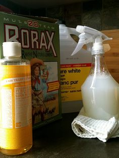 Diy all purpose cleaner.This cleaner works fabulously and it smells divine! (I tried it with peppermint Dr. Bronner's.)