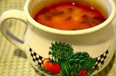14. Albania: Jani me Fasule (Jahni Soup) ~~ Recipe and photos: http://theatozcollegekitchen.blogspot.com.br/2012/01/albania-jani-me-fasule-jahni-soup.html