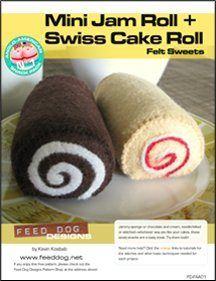 Free Sewing Pattern: Felt Sweets by Kevin Kosbab - Media - Sew Daily