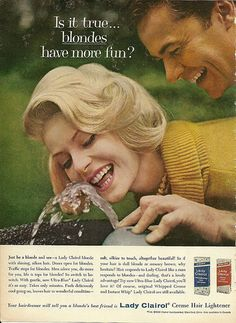 Lady Clairol 1961