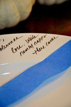 personalized dishes