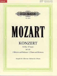 Mozart Concerto for 2 Pianos