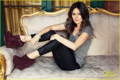 i love Rachel Bilson -- and her shoes!