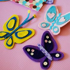 Bambi's Butterfly Bobby Pins  By Miranda Becker: Template: http://a.family.go.com/images/cms/disney/PDFs/bambi-butterfly-bobby-pin-template-0810.pdf