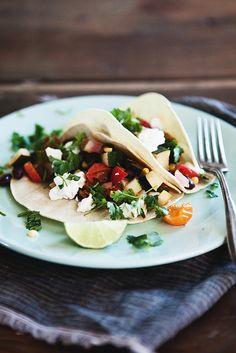 Late Summer Veggie Tacos