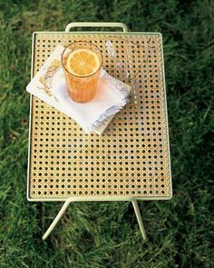 Cane-Top Table How-to