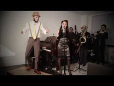 ▶ Just (Tap) Dance - Vintage 1940's Jazz Lady Gaga Cover - YouTube