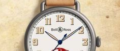 Bell & Ross WW1 Guynemer En el centenario de la Primera Guerra Mundial, es un homenaje a un piloto mítico, inspirado en los relojes de pulsera.