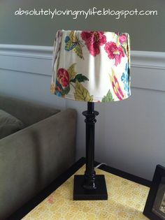 Loving Life: Going Yellow - When a Lamp Shade Meets a Napkin