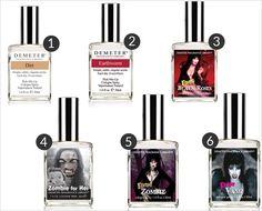 Zombie Perfume + Spooky Scents
