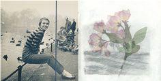 """orchidetelm: """" 2014/5/12 I.Jean Seberg in Paris, 1960 II.from my sketchbook """""""