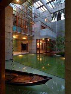 Indoor pool w/boat. SA Residence by Shatotto