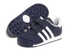adidas Originals Kids Samoa H&L (Infant/Toddler) New Navy/White/White - Zappos.com Free Shipping BOTH Ways