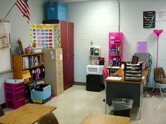 Middle School classroom organization blog