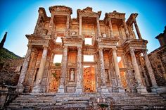 Last Flight Out Photography: The Library At Ephesus