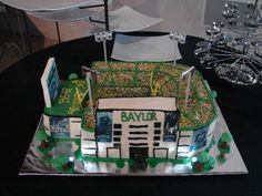 WOW. Impressive Floyd Casey Stadium cake -- perfect for tailgating the final season at FCS, or as a groom's cake for a #Baylor fan! #sicem (via @BaylorStadium on Twitter)