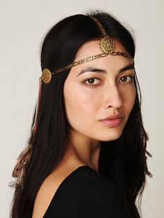Litter SF Dripped Chains Headpiece at Free People Clothing Boutique