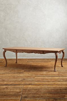 Handcarved Menagerie Dining Table - anthropologie.com