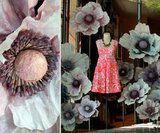 Anthropologie's Naturally Blooming Window Displays