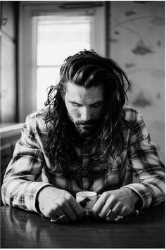 this man, long hair and beard, mens beards long hair, long hair style mens, long hair dos, beards and long hair, beard styles, long hair men fashion, long hair men style