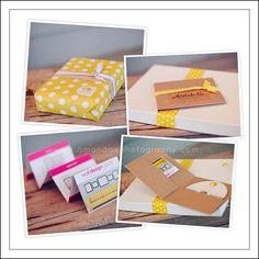 Amanda E Photography packaging