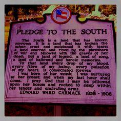 I love the South.