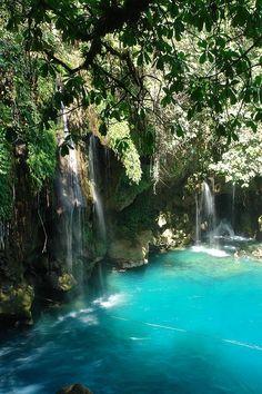 Puente de Dios Waterfalls in Tamasopo, San Luis Potosí, Mexico by Andres Eduardo Suarez, #places #lugares #viagem #travel #vacation #ferias