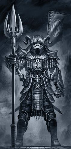 Stylish Samurai 'Star Wars' Character Illustrations