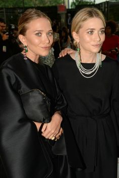 Mary-Kate and Ashley Olsen in The Row. [Photo by Steve Eichner]