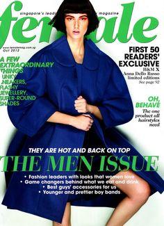 Kristina Trofimuk for Female Magazine October 2012