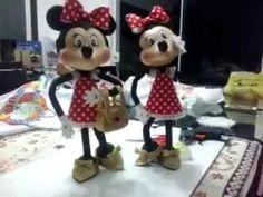 Mickey Minnie em EVA 3d parte II - YouTube