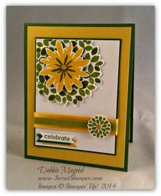 Wonderous Wreath, Flower Patch, Mixed Bunch, Park Lane, Stampin' Up!