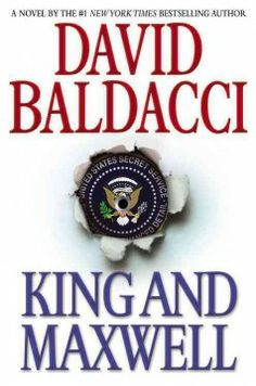 King and Maxwell by David Baldacci.  Click the cover image to check out or request the suspense and thrillers kindle.