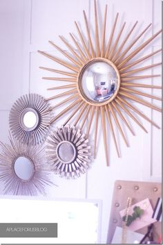 sunburst Mirror Collection - love it!