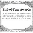 This is a powerpoint file (.pptx)which contains 48 different award certificates for students at the end of the year. The certificates feature fun,...