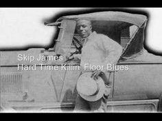 Skip James - Hard Time Killin' Floor Blues - http://music.onwired.biz/blues-music-videos/skip-james-hard-time-killin-floor-blues/
