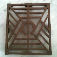 Antique trivet found at the Hartville flea market for $1.00