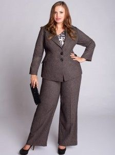 Very Cute Plus Size Career Clothing. Also has a great girly trench coat. #interview #fashion #wardrobe